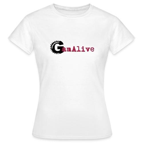T-Shirt Femme Logo GamAlive - T-shirt Femme