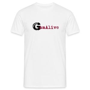 T-Shirt Homme Logo GamAlive - T-shirt Homme