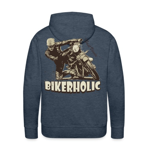 Bikerholic - Men's Premium Hoodie