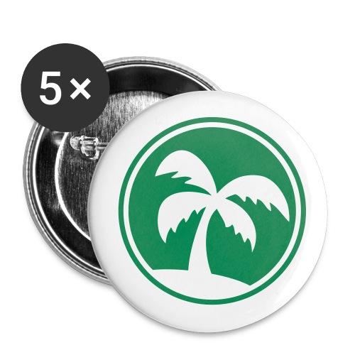 Palme - Buttons klein 25 mm