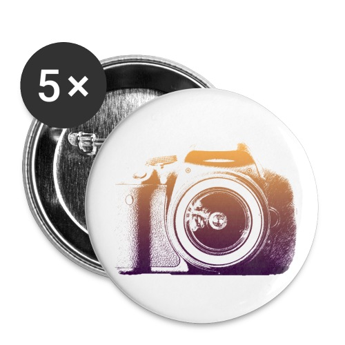 I LOVE MY SLR - Buttons groß 56 mm
