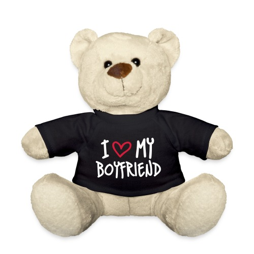 Teddybeer I love my boyfriend - Teddy