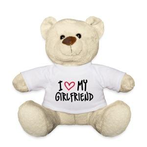 Teddybeer I love my girlfriend - Teddy