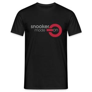 snooker mode on - Männer T-Shirt