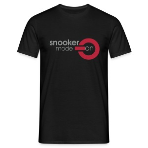 snooker mode on - Männer T-Shirt