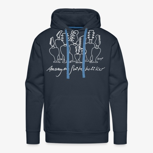 Sweatshirt, Pingo, anonym, guitarholiker, band, musik - Männer Premium Hoodie