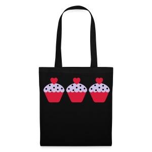 Cupcake Print Tote Bag - Tote Bag