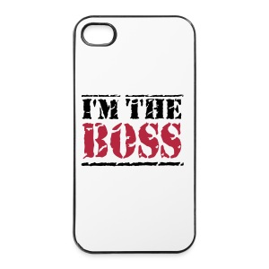 I'm the boss  4/4S hoes - iPhone 4/4s hard case