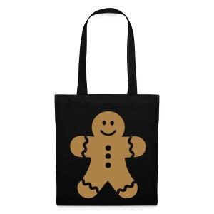Gingerbread Man Tote Bag - Tote Bag