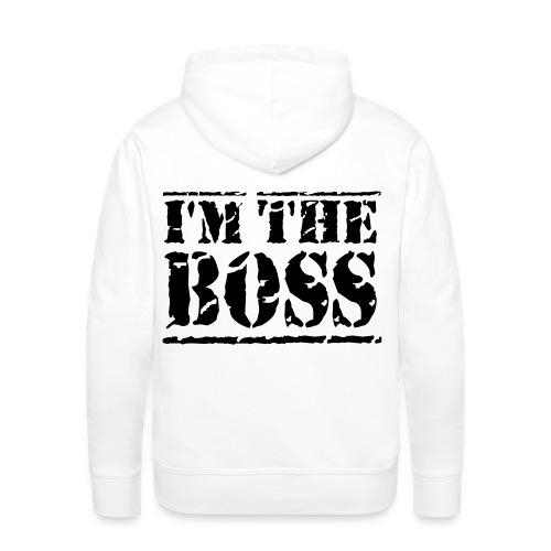 I'm the boss hoodie - Mannen Premium hoodie