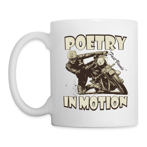 Poetry in motion - Mug