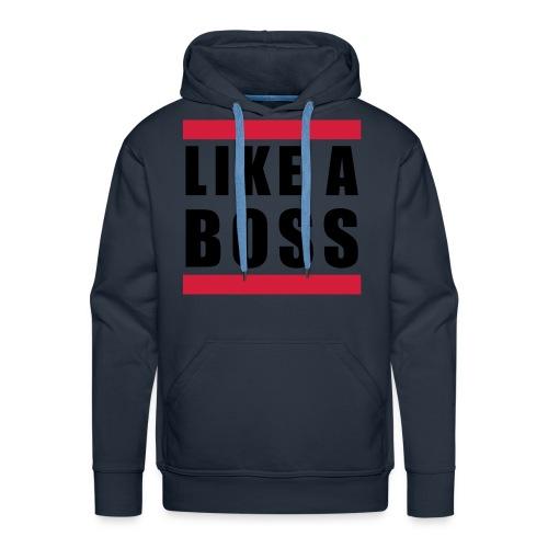 like a boss sweater men - Mannen Premium hoodie