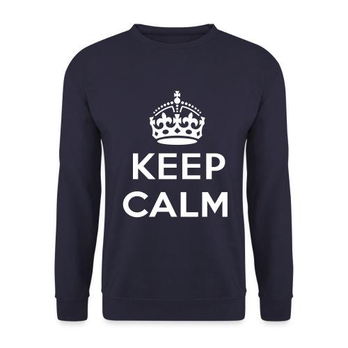 keep calm sweater - Mannen sweater