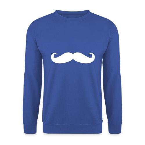 mustache sweater unisex - Mannen sweater