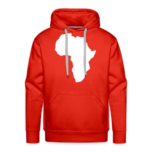 africa map sweater men - Mannen Premium hoodie