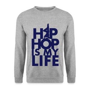 BEEZ - Hip Hop Is My Life Crewneck Men - Mannen sweater