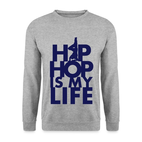 BEEZ - Hip Hop Is My Life Crewneck Men - Mannen sweater