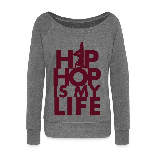 BEEZ - Hip Hop Is My Life Sweater Women - Vrouwen trui met U-hals van Bella