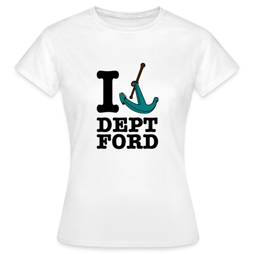 I Love Deptford Womens Tee - Women's T-Shirt