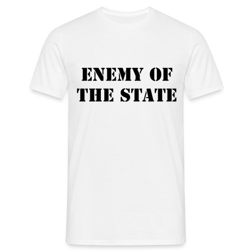 Enemy of the state - T-shirt herr