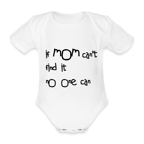 no one can  - Organic Short-sleeved Baby Bodysuit