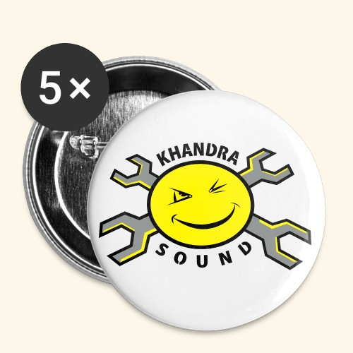 Khandra Sound Buttons /Large 56mm/5pcs - Buttons large 2.2''/56 mm (5-pack)