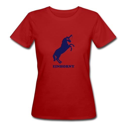 Einhorny - Frauen Bio-T-Shirt