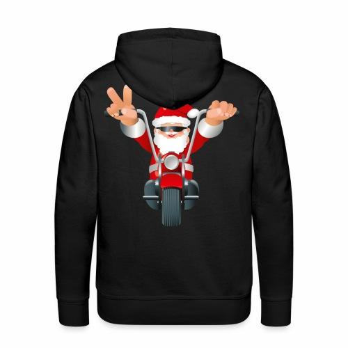 Santa Bike - Men's Premium Hoodie