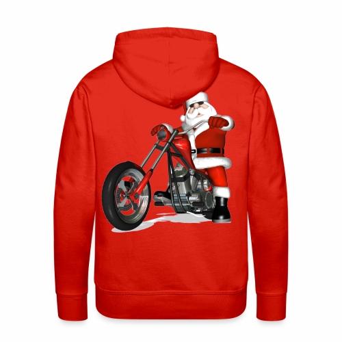 Santa Bike sweatshirt - Men's Premium Hoodie