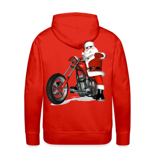 Santa Bike sweatshirt - Men's Premium Hoodie