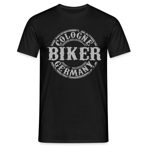 Biker Köln Germany - Männer T-Shirt