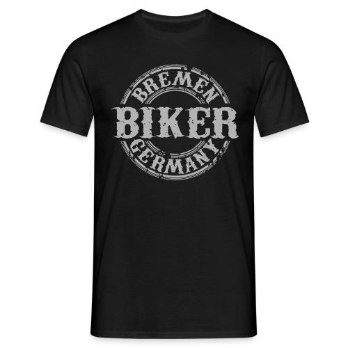 Biker Bremen Germany - Männer T-Shirt