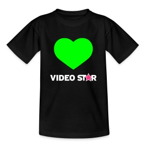 Video Star Magic Heart Kids Tee - Kids' T-Shirt
