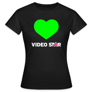 Video Star Magic Heart Women's Adult Tee - Women's T-Shirt