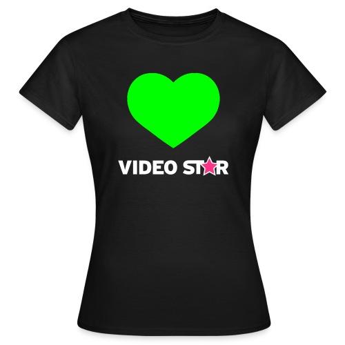 Video Star Magic Heart Women's Adult Tee - Women's T-Shirt