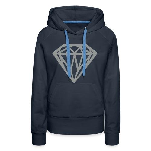 diamond tivaro trui vrouwen. - Vrouwen Premium hoodie
