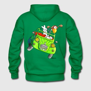Duck car – Oldtimer – T- Shirt Design Hoodies & Sweatshirts - Men's Premium Hoodie