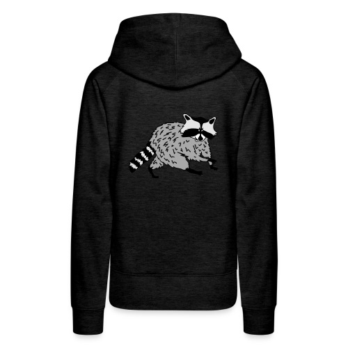 tier t-shirt waschbär bär waschen sauber raccoon racoon coon - Frauen Premium Hoodie