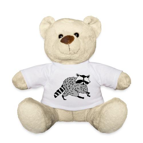 tier t-shirt waschbär bär waschen sauber raccoon racoon coon - Teddy