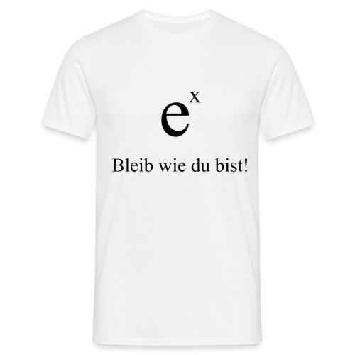 e hoch x - Männer T-Shirt