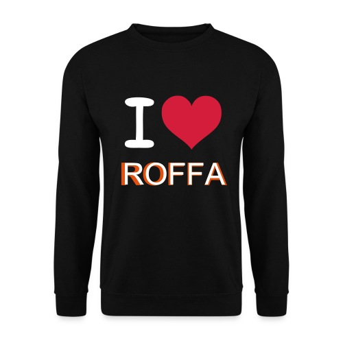 i love Roffa - Mannen sweater