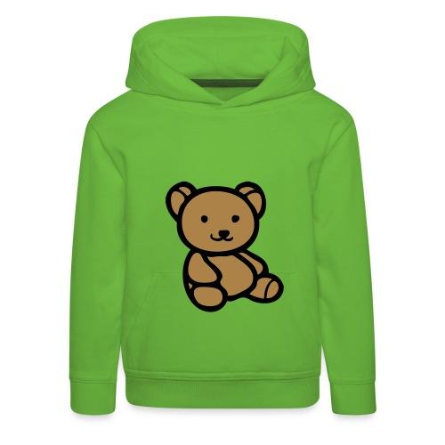 Kids Bear Hoodie - Kids' Premium Hoodie