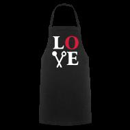 LOVE   Kochen Ist Liebe. Kochschürze Geschenkideen Geschenke Zum  Valentinstag