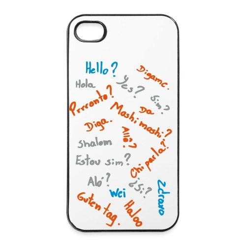 Iphone 4/4s Cover - Phone Answers - iPhone 4/4s hard case
