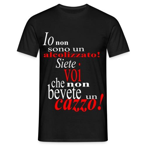 Io non sono un alcolizzato! - White - Men's T-Shirt