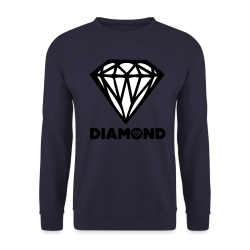 #Diamond #Crewneck - Mannen sweater