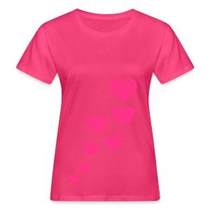 Hearts - Women's Organic T-shirt