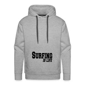 trui surfing - Mannen Premium hoodie