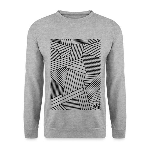 Control Freak Grey Crewneck - Mannen sweater