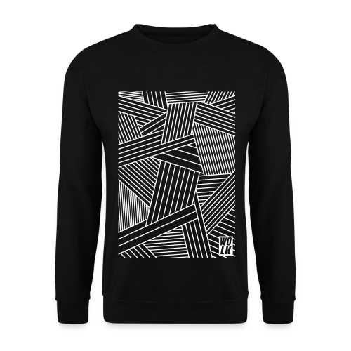 Control Freak Black Crewneck - Mannen sweater